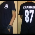 T-Shirt Scotty Cranmer Bulldog Black/White Licensed By Crazy.Inc