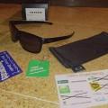 Oakley Eyewear Sliver Matte Black/Grey Original