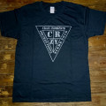 T-shirt Crazy.Inc Triangle Black/Antrachite