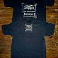 T-Shirt Crazy.Inc Badge Black/White