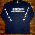 Longsleeve Crazy.Inc Squares Black/White Heather