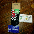 Vans Low Ankle Socks Checkerboard Black/WHite Original