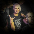 "Tees Emma Hewitt ""Silhouette"" Black/White #CrazyIncApparel"