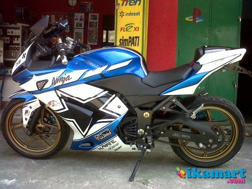 ide modif ninja 250 biru