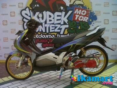 Jual Yamaha Nouvo Z 2005 Bekasi Resik Muluus Motor Bekas Yamaha