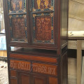 Lemari cuiho antik kayu jati & trembalo