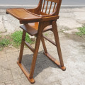 Baby chair kayu jati