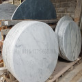 Meja marmer diameter 100cm kaki rafles
