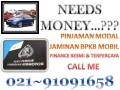 Dana Cepat 02191091658 Pinjaman Uang finance jaminan bpkb mobil