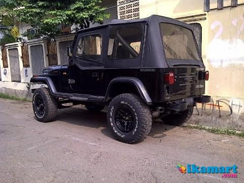 Jeep cj7 modifikasi wrangler yj - Mobil Bekas Jeep CJ