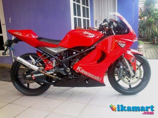 Jual Kawasaki Ninja Rr Tahun 2011 Bulan Juli Mulus Modif Motor Bekas Kawasaki Ninja Rr