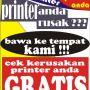 cek kerusakan printer gratis