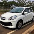 Dijual Honda Brio E1.2 A.T Putih Mutiara kondisi mulus terawat