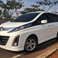 Dijual Mazda Biante A/T 2013 Putih Mutiara Low Km Mulus terawat