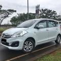 Dijuall Suzuki Ertiga GL A/T Facelift 2015 Putih Metallik Proses Kredit cepat dan dibantu
