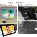 Digital Photo Frame 15 inch LED LCD Screen