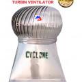 "Jual CYCLONE Turbine Ventilator dia. 36"" Stainless Steel – Kab. Sidoarjo"