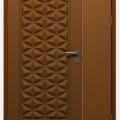 Jual Pintu Besi Steel Door model GA-54 BK C | Anti rayap, Tidak karat, Tahan air dan api
