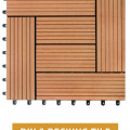 Lantai WPC Decking Tile DIY 2