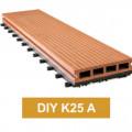 Lantai WPC Decking Tile DIY K25 A