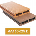 Lantai Kayu Komposit untuk Outdoor KA150K25 D cocok buat lantai kolam renang