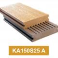 WPC Decking KA150S25 A ? Lantai Kayu Komposit untuk Outdoor