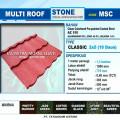 Genteng Metal Multiroof Pasir warna