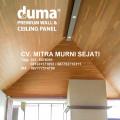 Plafon WPC Duma Panel motif serat kayu Tahan air dan rayap