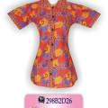 Pakaian Batik Modern, Blouse Batik Modern, Batik Wanita, KBLP4