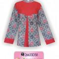 Mode Baju Batik, Busana Batik Modern, Grosir Pakaian Murah, HBKER3