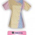 Baju Batik Online, Desain Baju Batik, Desain Baju Batik Modern, HB3W2