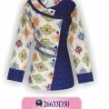 Contoh Baju Batik Modern, Blouse Batik Wanita, Gambar Model Batik, KBTE