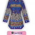 Batik Modern Wanita, Batik Fashion, Model Blus Batik, KKBA