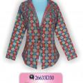 Model Batik Kerja, Batik Wanita Modern, Grosir Baju Murah, KBLA3