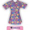Grosir Batik, Baju Modern, Desain Baju Batik Wanita, KBLP1