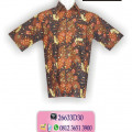 Kemeja Batik Pria, Busana Batik Modern, Baju Batik, SMTHSG9