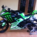 Ninja 250 FI Green Monster Energy