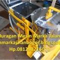 Mesin Preheater Marka Jalan / Mesin Pemasak Thermoplastik