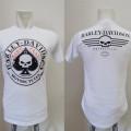 Kaos Harley Davidson Spade Skull (Hard & Fast)