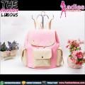 Ransel Wanita - Cutie Pink Cream