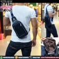 Tas Pria Import - Waistbag 822 Black