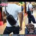 Tas Pria Import - Waistbag 822 Coffee