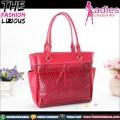 Tas Fashion Wanita - Stylist Red Snakesnik Shoulderbag