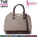 Canvas Handbag Gucci Style