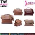 Tas Wanita Import - Dual Belt Hand Bag