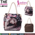 Tas Wanita Import - Pretty Anime Tote Bag
