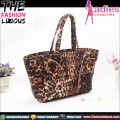 Tas Fashion Wanita - Leopard Shoulderbag Yellow
