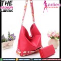 Tas Fashion Wanita - Slingbag Simple Red
