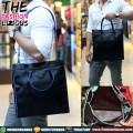 Tas Pria Import - Slingbag Textured 953 Black