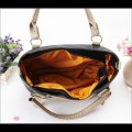 Tas Fashion Wanita - Slingbag Dualbelt Black Khaki